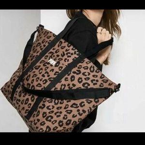 NEW Victoria Secret Weekender zip Tote.